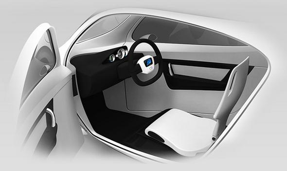 Lit Motors C-1 Interior