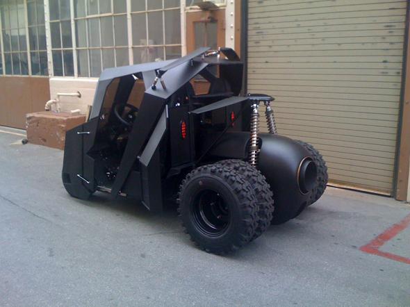Batman Golfcart