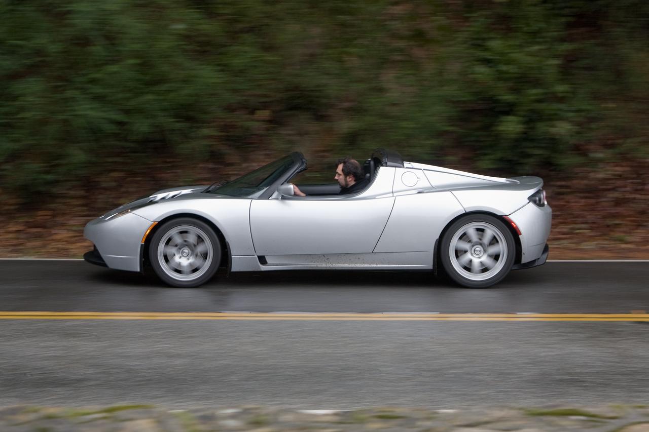 Tesla Roadster Left Side