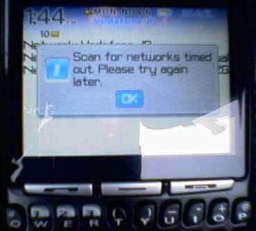 RIM Network Down Again