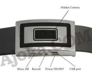 Ajoka DVR Belt Buckle