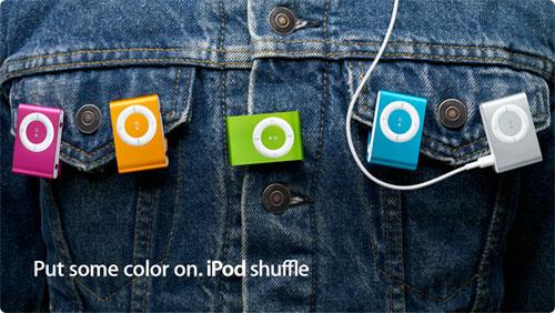 Apple iPod Shuffle Price Drop
