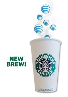 Starbucks AT&T free wi-fi