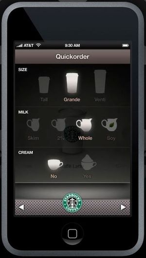 Starbuck iPhone