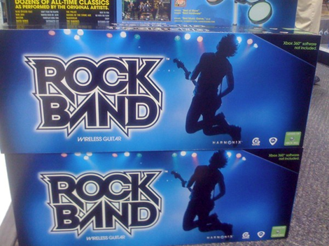 Xbox 360 wireless rock band