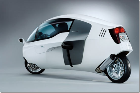 MonoTracer Enclosed Motorcycle