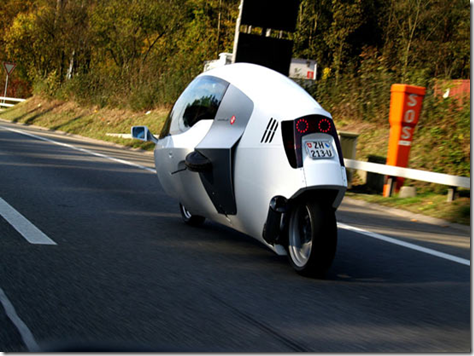 MonTracer Enclosed Motorcycle