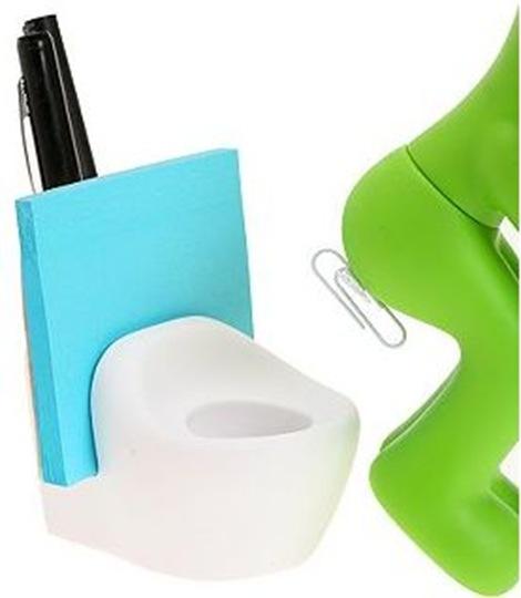 Butt Station Paper Clip Holder
