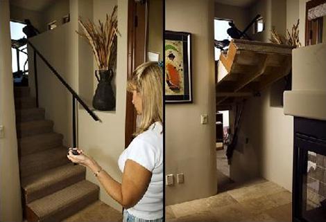 Hidden Passageway Staircase