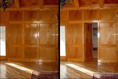 Hidden Room Wall