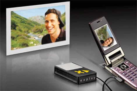 Texas Instruments Mobile Projector