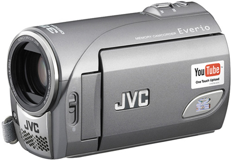 JVC Everio YouTube Camcorder
