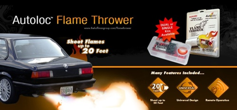 Exhaust Flame Thrower