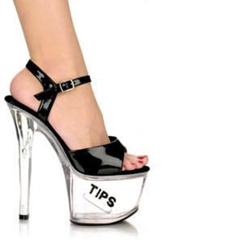 Stripper Pump Tip Jar