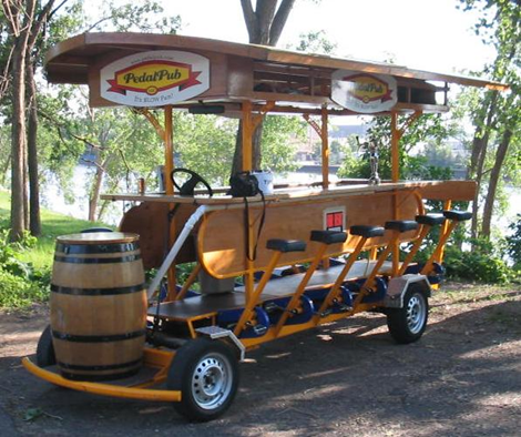 Pedal Pub drunk bike