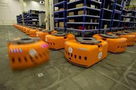 Zappos robots