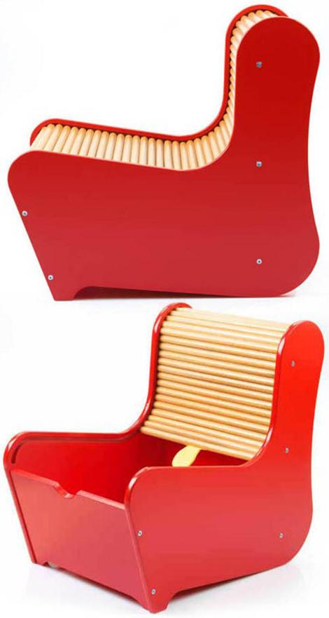 Rolltop Chair