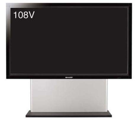 108-inch Sharp LCD