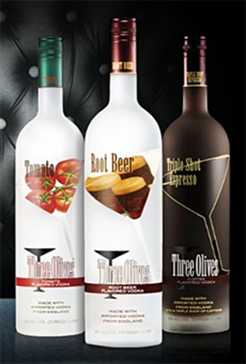 Quadruple Distilled And Filtered Flavored Vodka