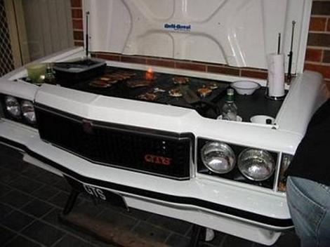 Classic HOlden Monaro GTS Grill BBQ