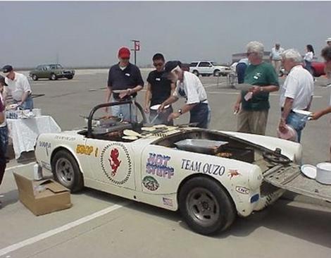 Jaguar Austin Healy BBQ