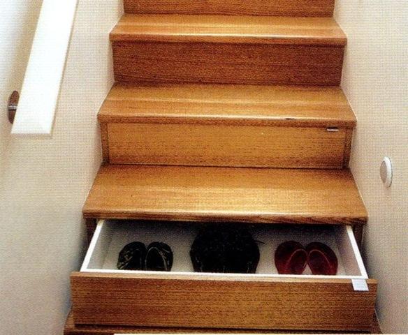 Attractive Storage Stairs