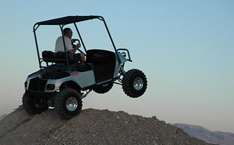 Bad Ass Golf Cart