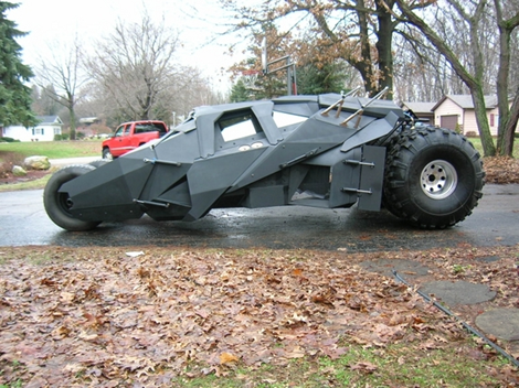 Build A Car From Scratch >> Build Your Own Batmobile Tumbler Gadgetking Com