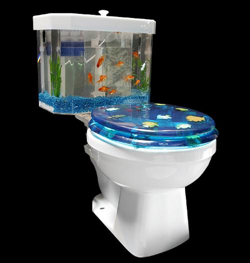 Toilet Aquarium GadgetKingcom