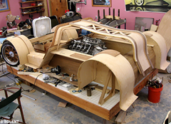 Splinter Wooden Car