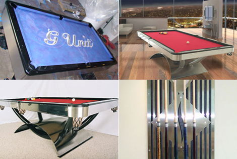 Custom Pool Table Robert F Boles