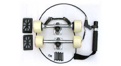 Skateboard brakes
