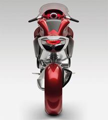 Futuristic Honda Motorcycle