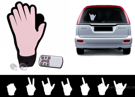 Remote Control Hand For Car