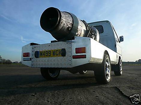 Daihatsu Jet Powered Truck