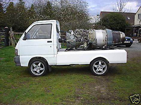 Jet-Powered Pickup
