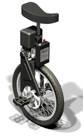 SBU self balancing unicycle