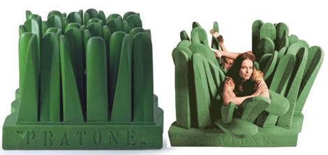 Pratone Lounge Chair Grass