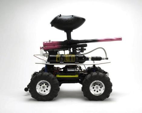 WROMP Paintball RC Car