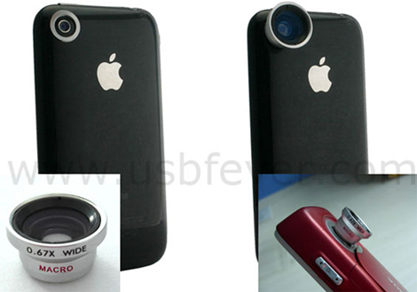 iPhone USBfever Lens