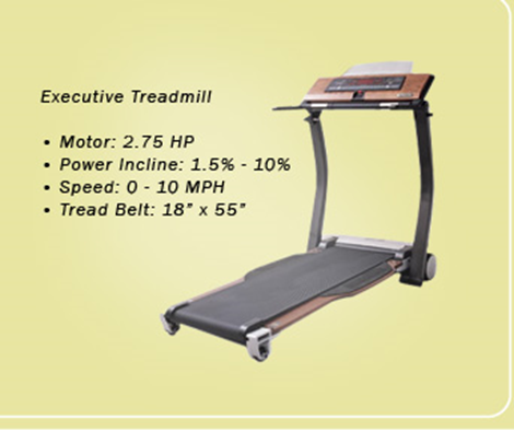 Hidden treadmill