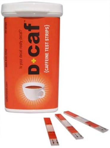 Caffeine Test Strips