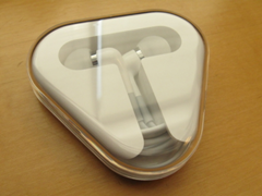 Apple in-ear headphone with mic