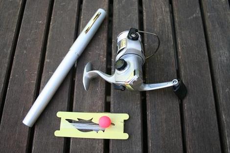 Pen Fishing Pole