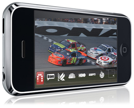 SlingPlayer iPhone