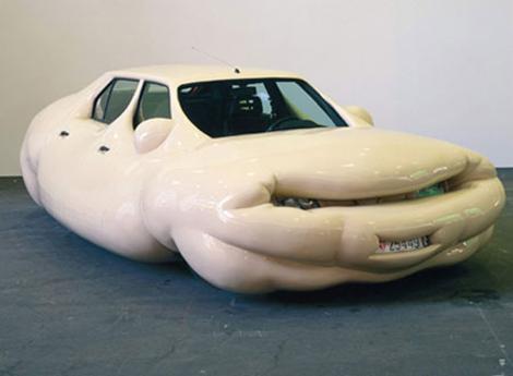 Erwin Wurm Obese Cars
