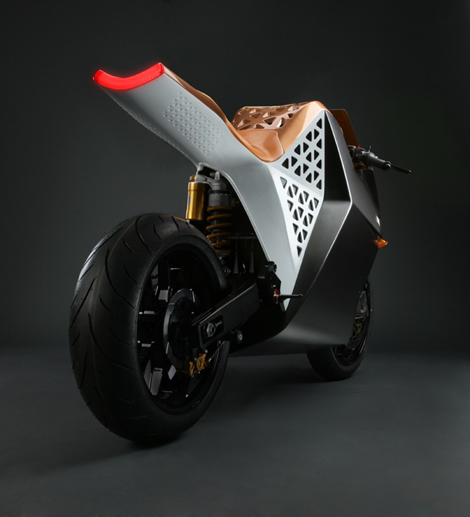 Mission One Electric Street Bike