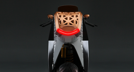 Lithium Ion Motorcycle