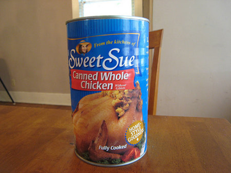 Sweet Sue Caneed Whole Chicken