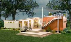 prefab solar home